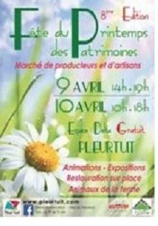 fête du printemps pleurtuit 2016
